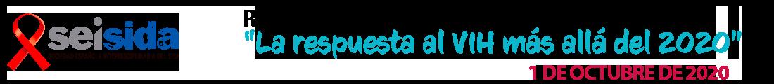 """Reunión SEISIDA 2020 – """"La respuesta al VIH más allá del 2020"""" Logo"""