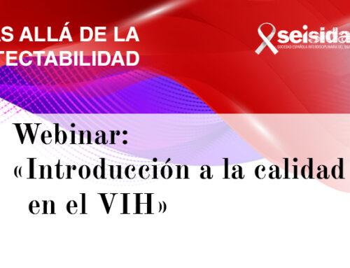 Webinar: «Introducción a la calidad de vida en el VIH»