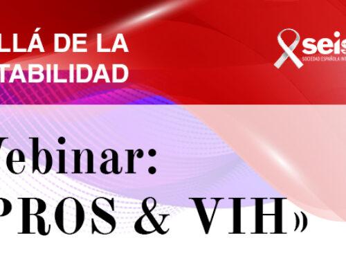 Webinar: «PROS & VIH»