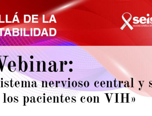 Webinar: «Sistema nervioso central y salud mental en los pacientes con VIH»