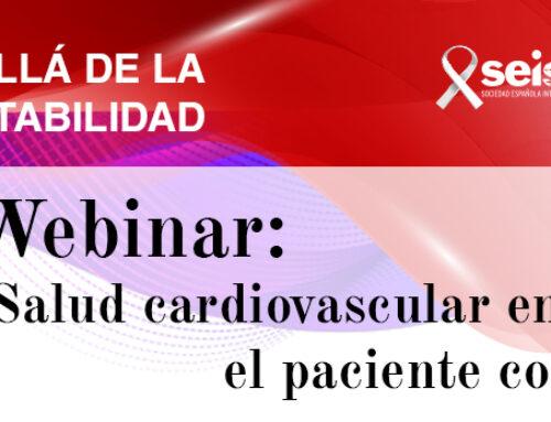 Webinar: «Salud cardiovascular en el paciente con VIH»