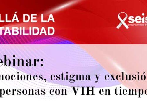 Webinar: «Emociones, estigma y exclusión de las personas con VIH en tiempos de COVID»
